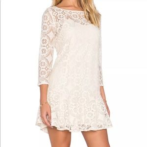 Free People Walking to the Sun Fit & Flare Dress